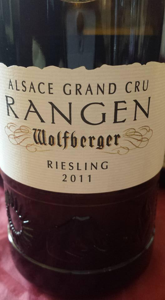 Wolfberger – Riesling 2011 Rangen – Alsace Grand Cru