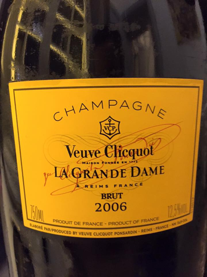 Champagne Veuve Clicquot Ponsardin – Cuvée La Grande Dame 2006 – Brut