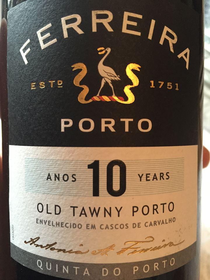 Ferreira – 10 years Old Tawny – Quinta do Porto – Porto