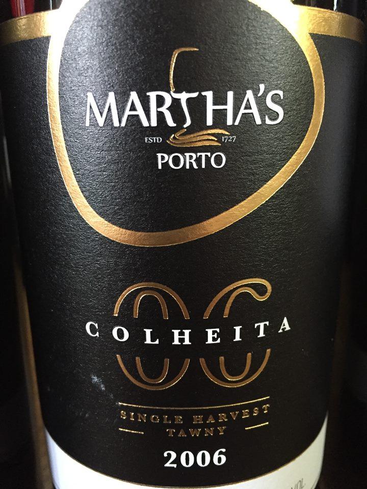 Martha's – Colheita 2006 – Single Harvest – Tawny – Porto
