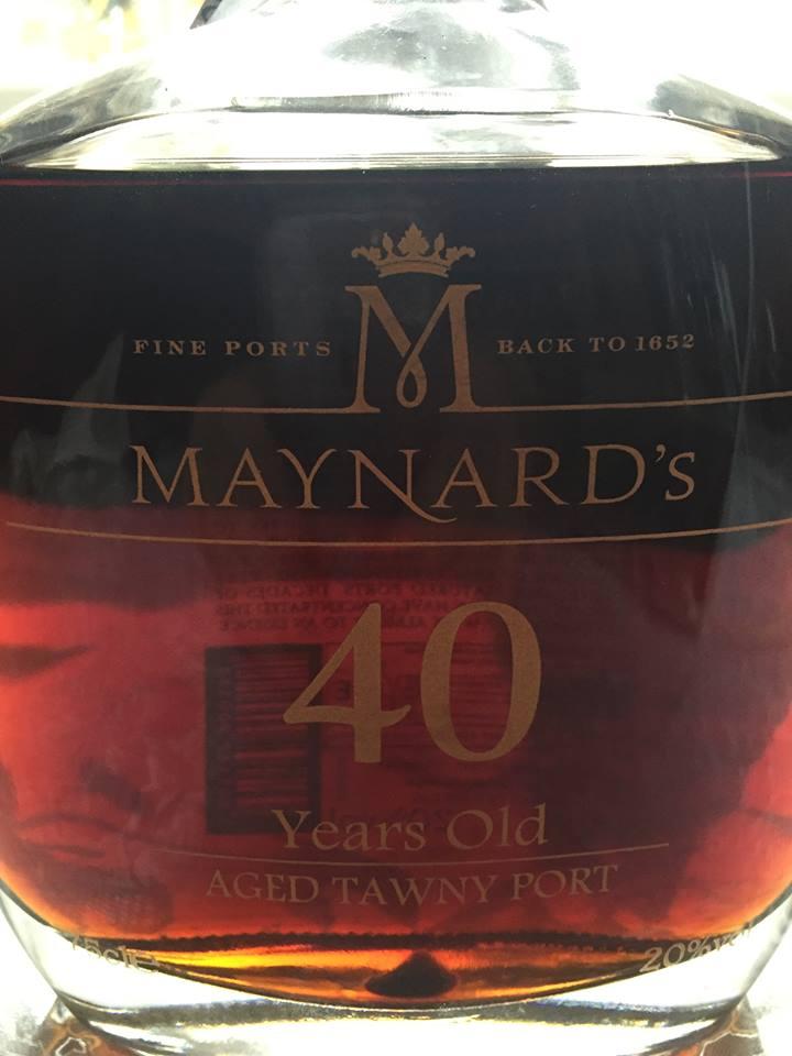 Maynard's – 40 Year's Old – Tawny Porto