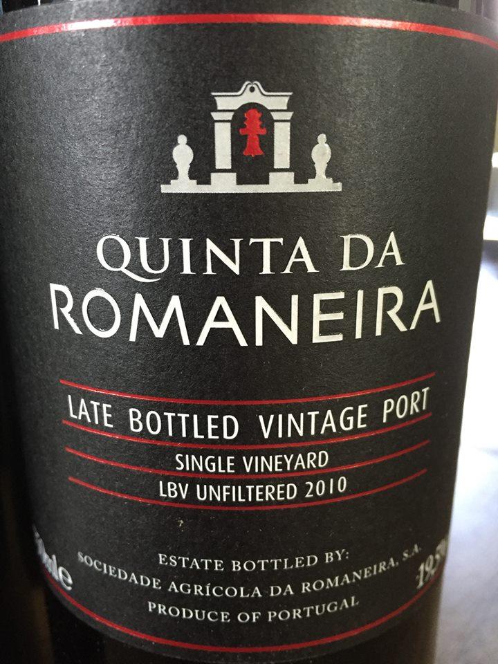 Quinta da Romaneira – LBV Unfiltered 2010 – Single Vineyard