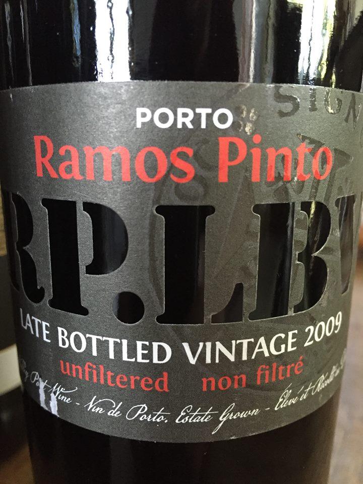 Ramos Pinto – LBV 2009 – Unfiltered – Porto