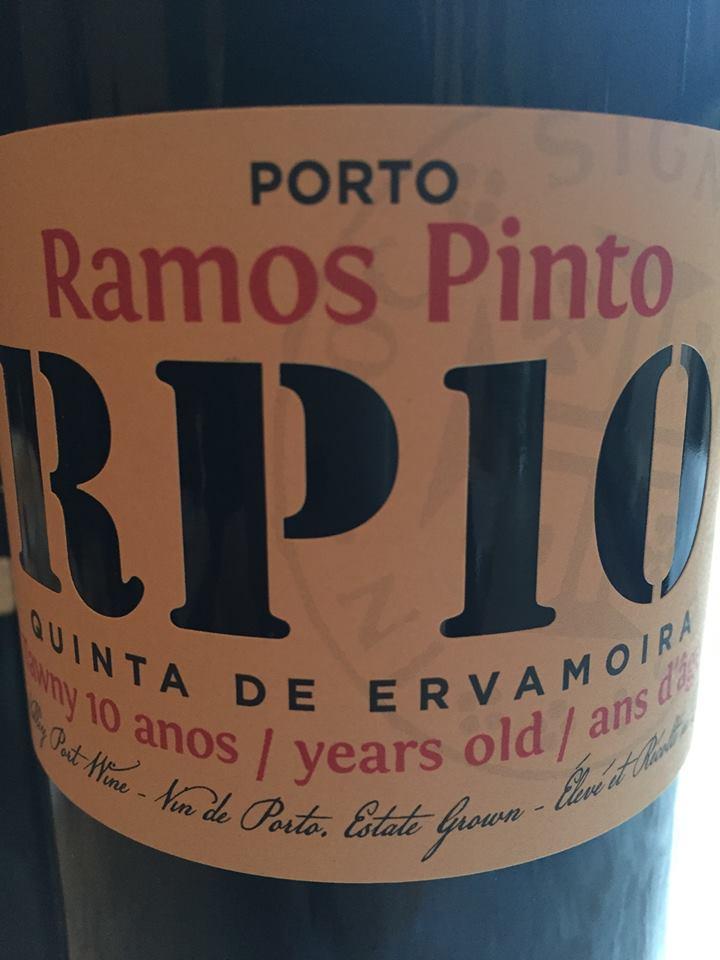 Ramos Pinto – Quinta de Ervamoira – 10 year's Old – Tawny – Porto