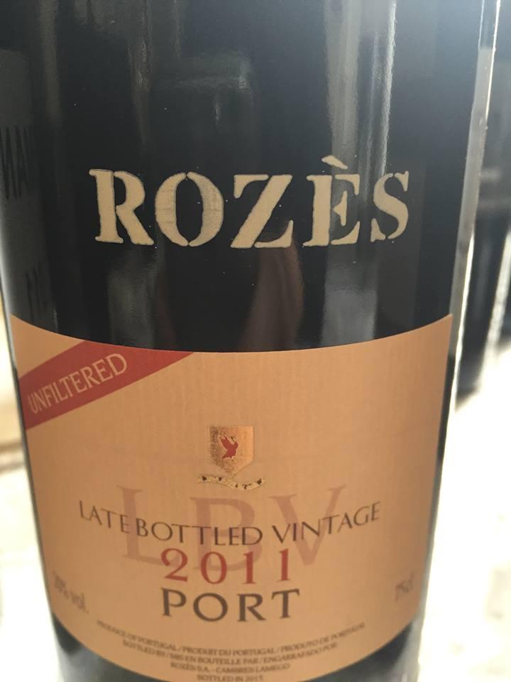Rozès – LBV 2011 – Port – Unfiltered