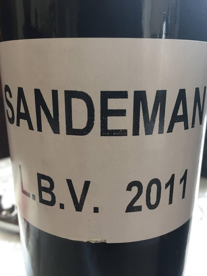 Sandeman – 2011 LBV Port