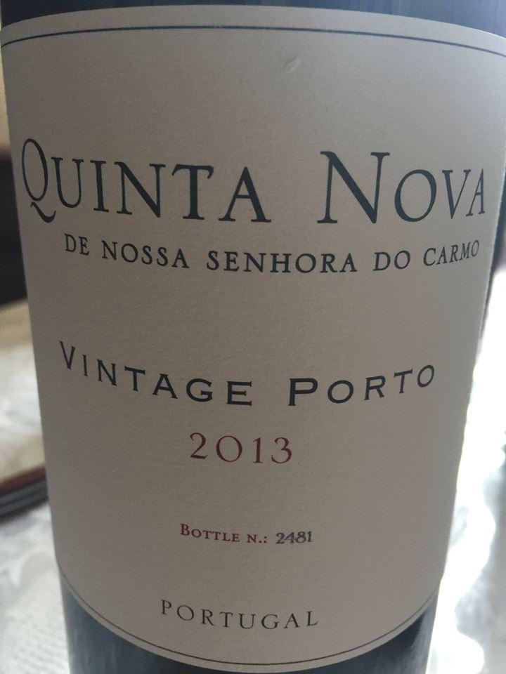 Quinta Nova de Nossa Senhora do Carmo –2013 – Vintage Porto