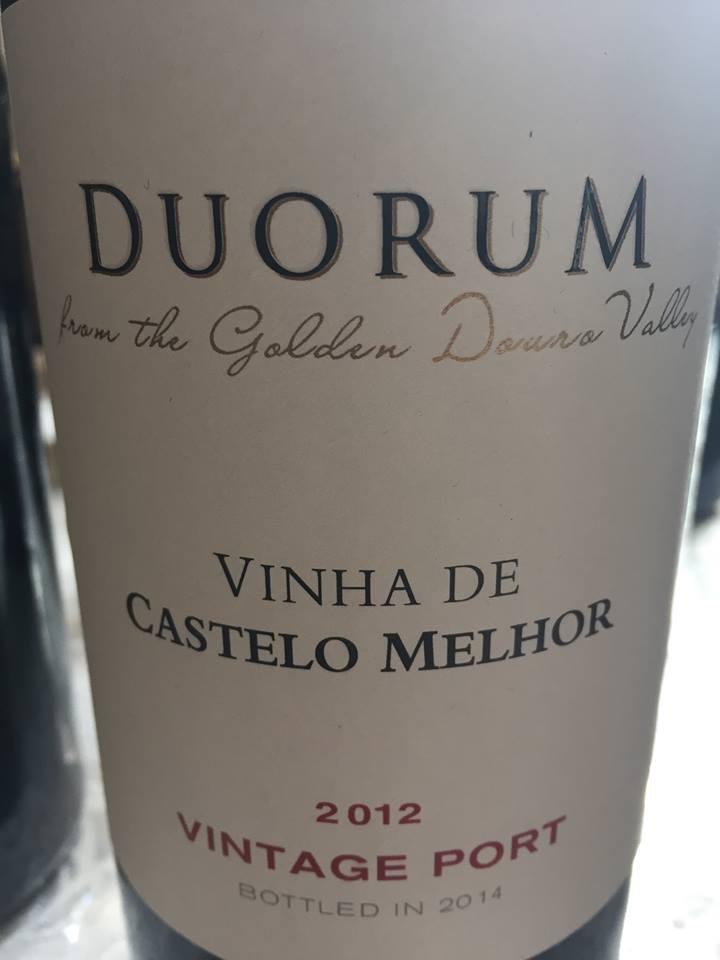 Duorum – Vinha de Castelo Melhor 2012 – Porto Vintage
