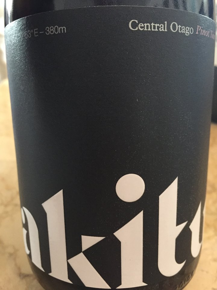 Akitu – A1 – Pinot Noir 2014 – Central Otago