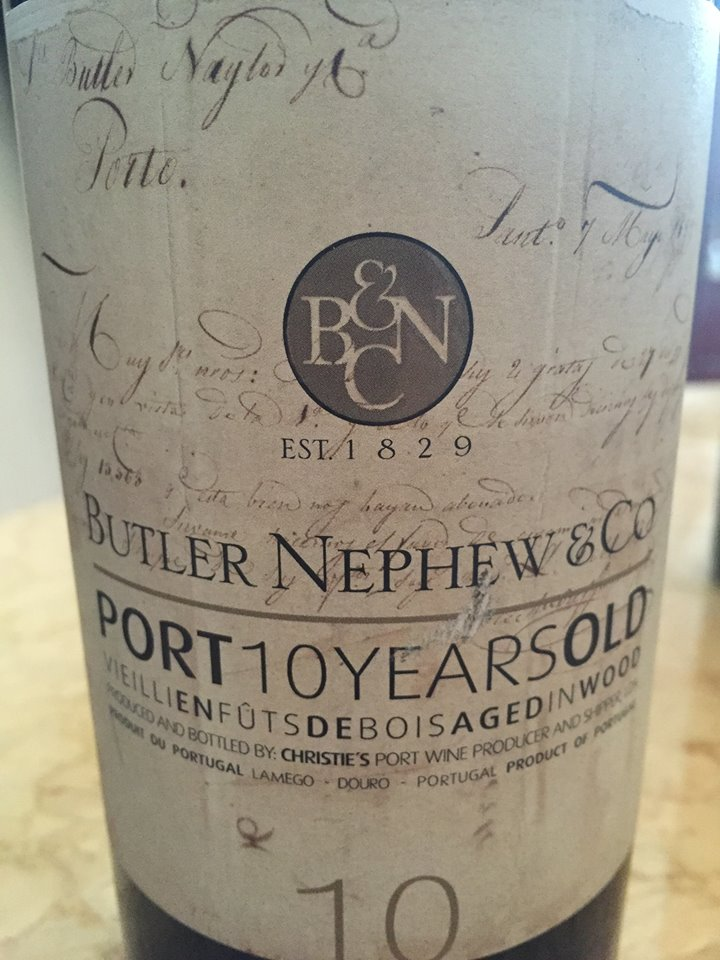 Butler Nephew & Co – Port 10 years Old – Tawny