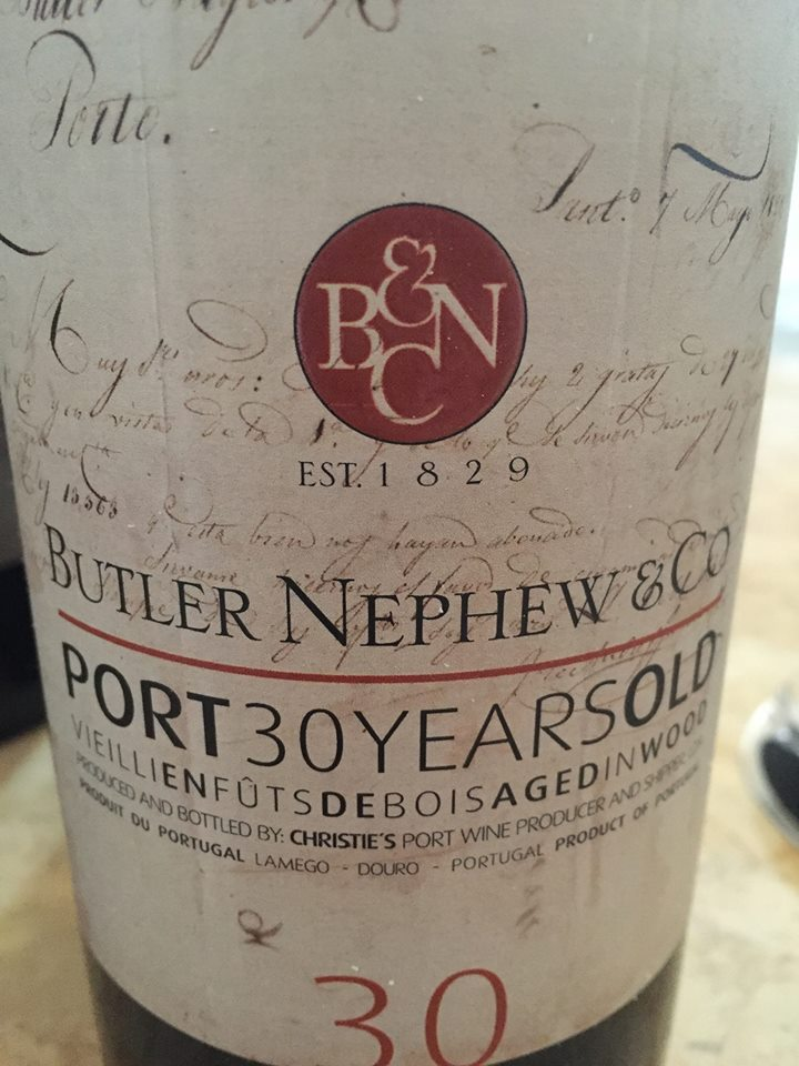 Butler Nephew & Co – Port 30 years Old – Tawny