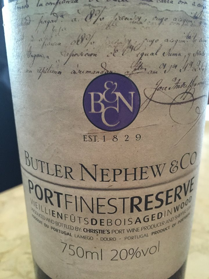 Butler Nephew & Co – Port Finest Reserve