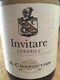 M. Chapoutier – Invitare 2014 – Condrieu