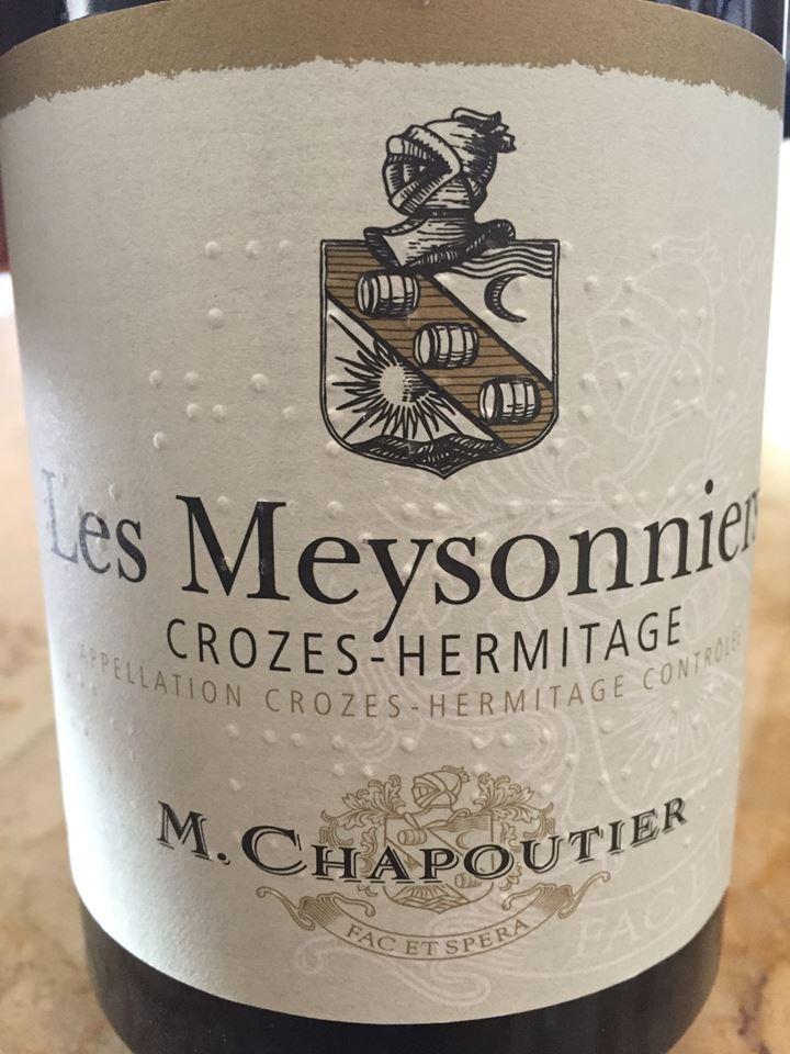 M. Chapoutier – Les Meysonniers 2014 – Crozes-Hermitage