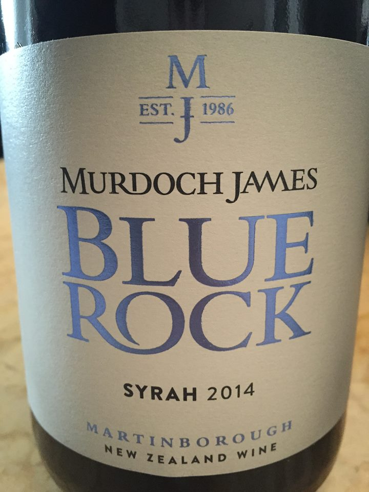Murdoch James – Blue Rock – Syrah 2014 – Martinborough – New Zealand