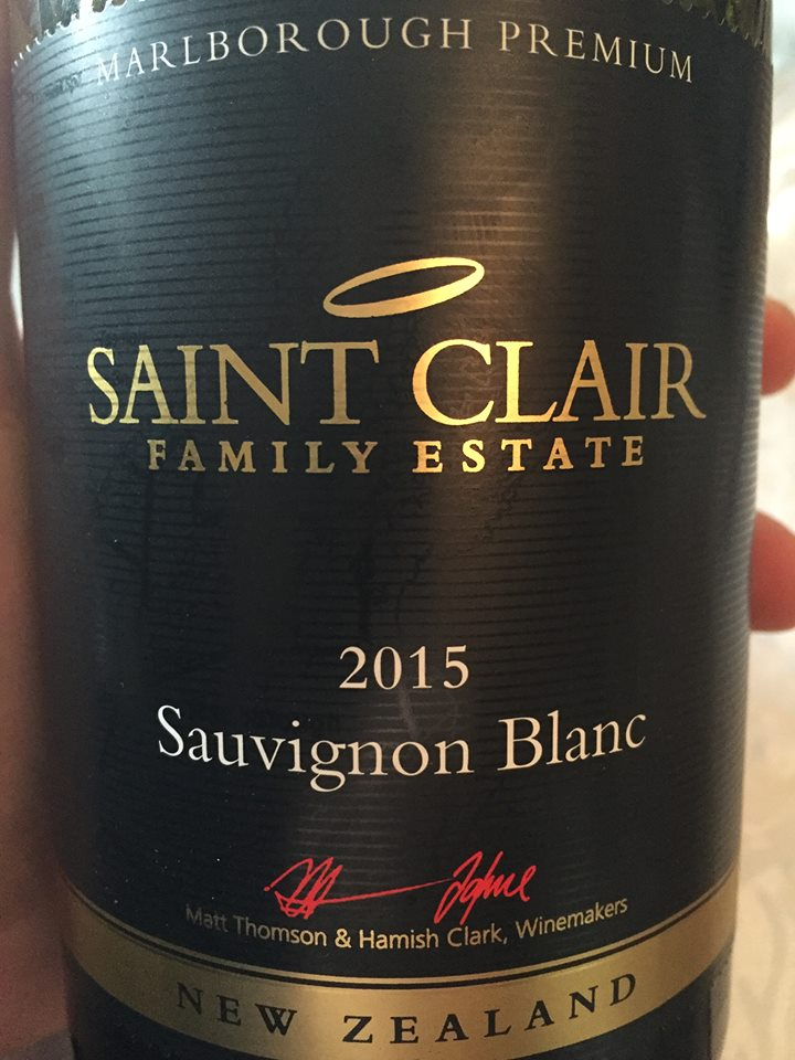 Saint Clair Family Estate – Sauvignon Blanc 2015 – Premium – Marlborough