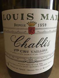 Domaine Louis Max – Vaillons 2014 – Chablis Premier Cru