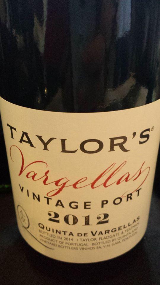 Taylor's – Quinta de Vargellas 2012 – Vintage Port