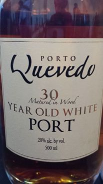 Quevedo 30 years Old – White Porto