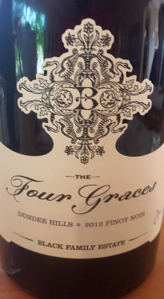 The Four Graces – Black Family Estate – Pinot Noir 2012 – Dundee Hills – Willamette Valley