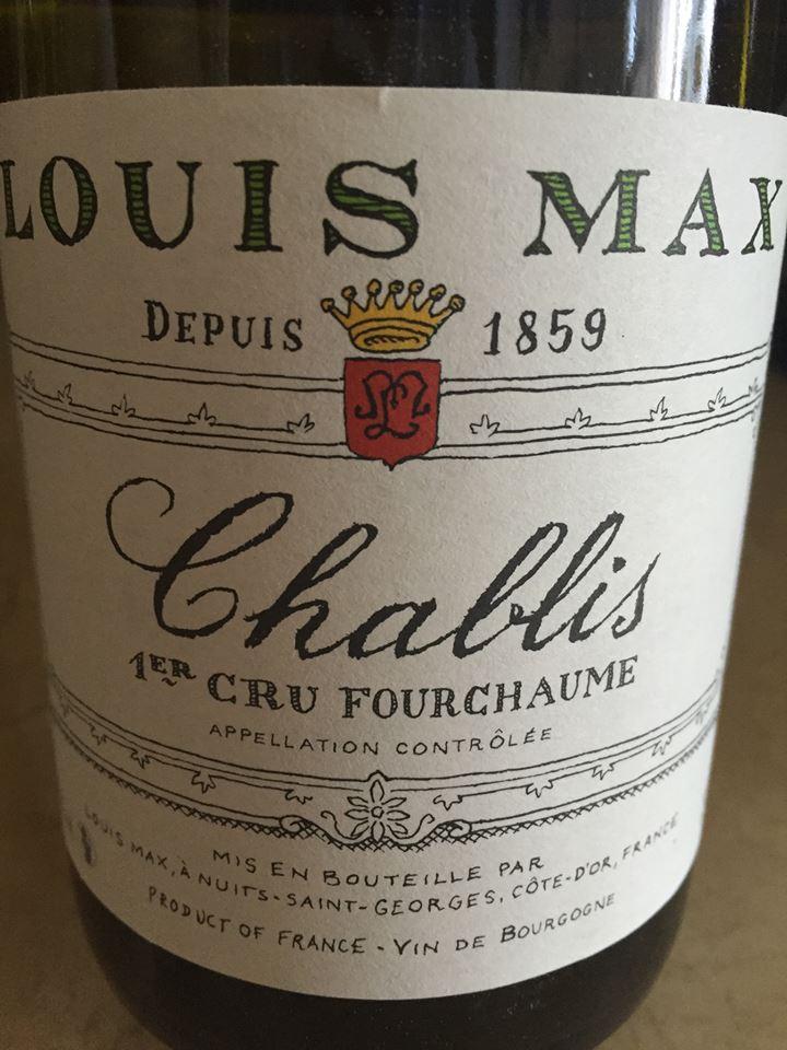 Domaine Louis Max – Fourchaume 2014 – Chablis Premier Cru