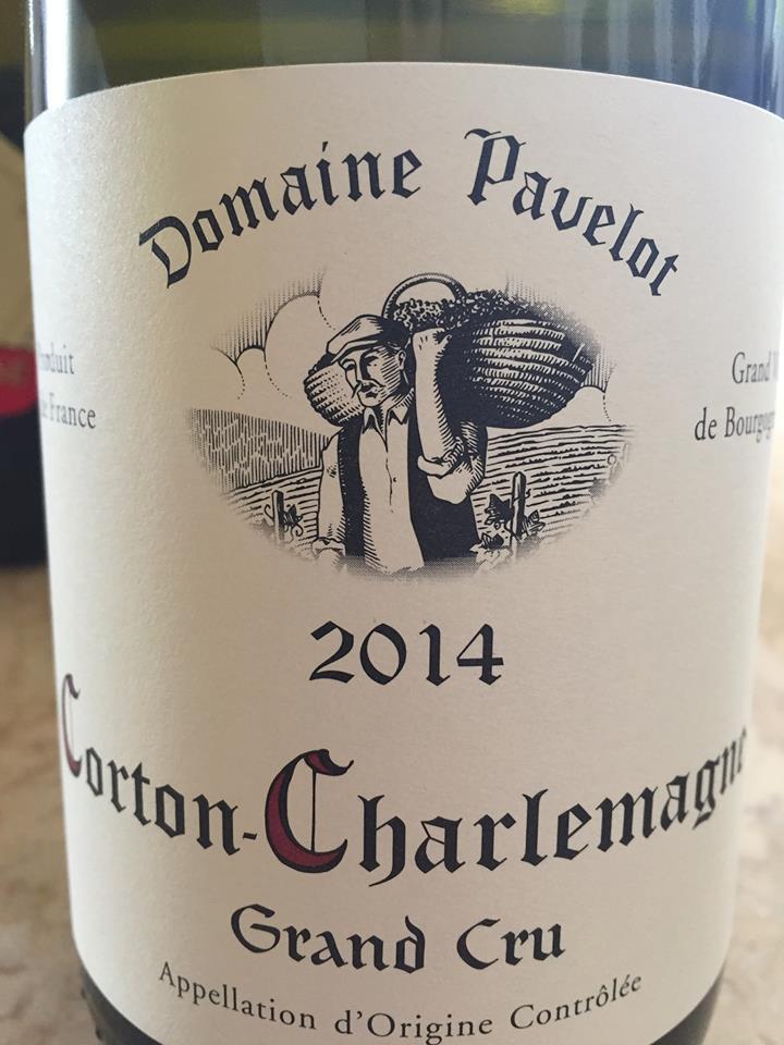 Domaine Pavelot 2014 – Corton Charlemagne Grand Cru