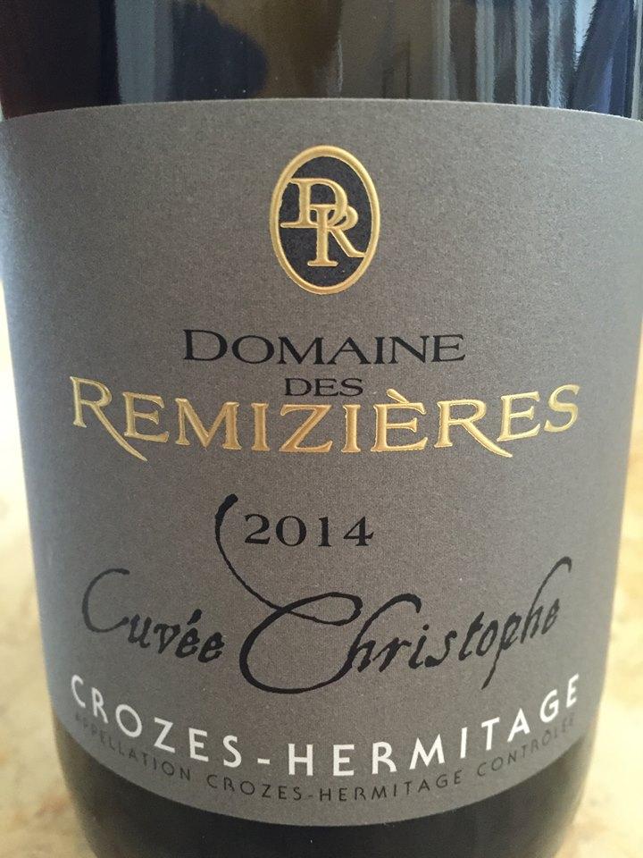Domaine des Remizières – Cuvée Christophe 2014 – Crozes-Hermitage