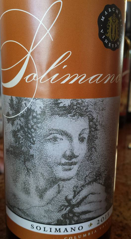 Marchesi Winery – Solimano 2013 – Columbia Valley
