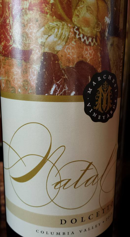 Marchesi Vineyards – Natal – Dolcetto 2013 – Columbia Valley