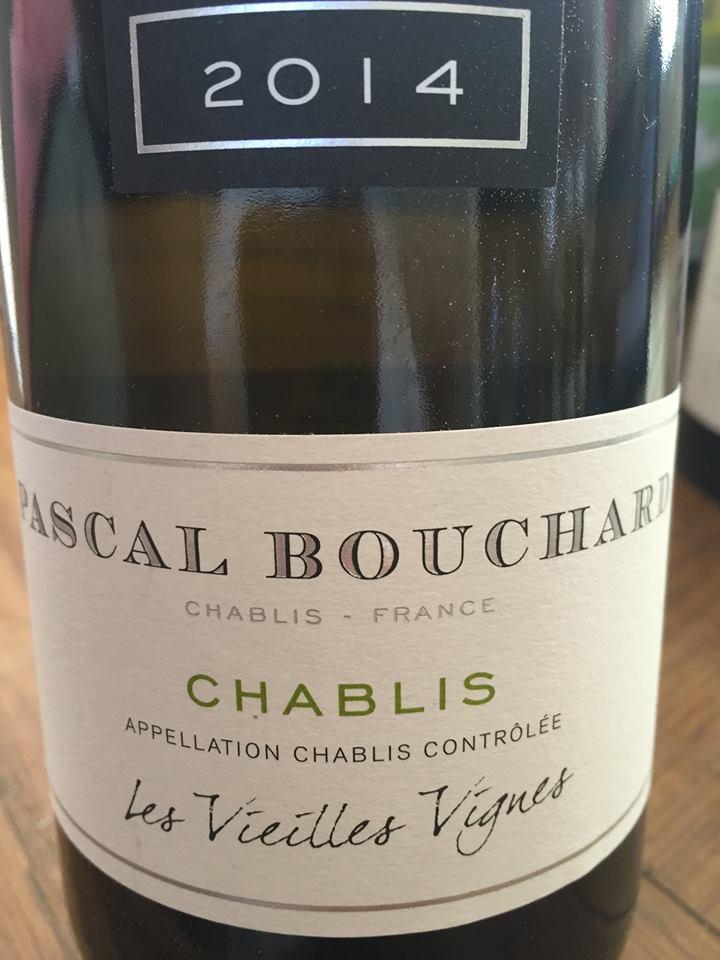 Pascal Bouchard – Les Vieilles Vignes 2014 – Chablis