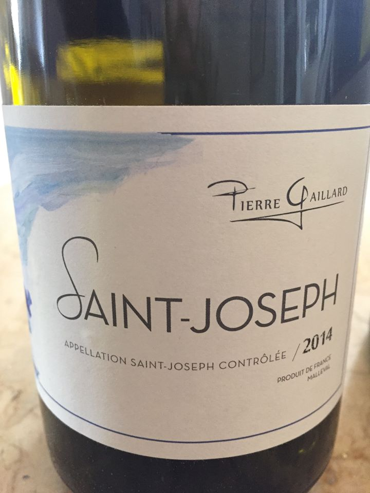 Pierre Gaillard 2014 – Saint-Joseph