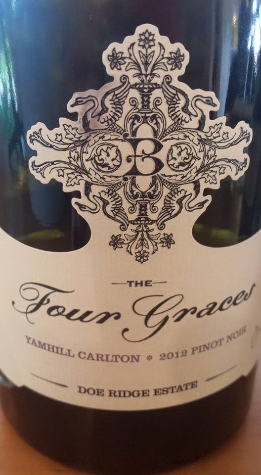The Four Graces – Doe Ridge Estate 2012 – Yamhill Carlton – Willamette Valley