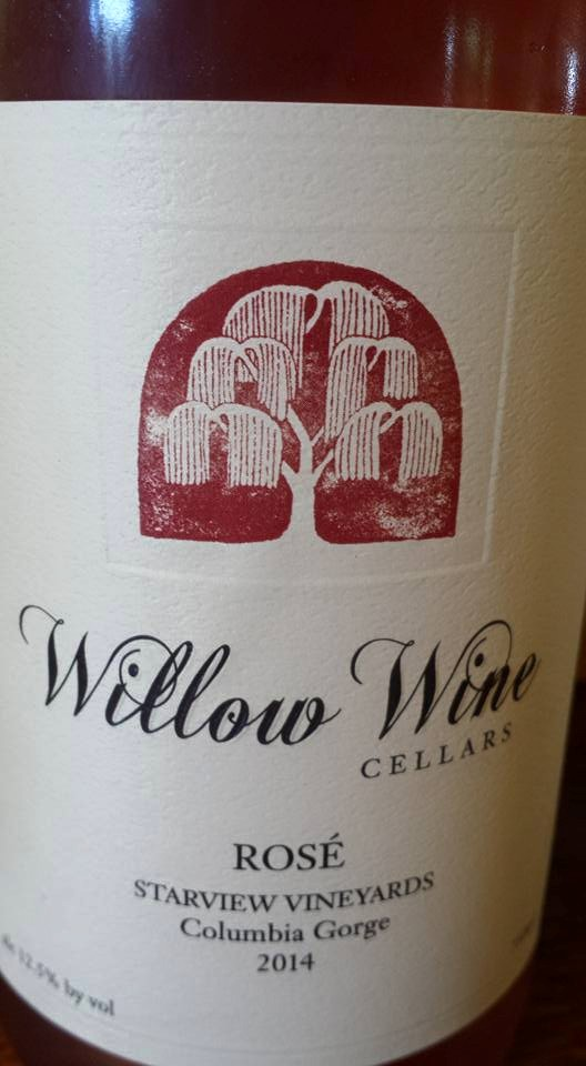 Willow Wine Cellars – 2014 Rosé – Starview Vineyards – Columbia Gorge