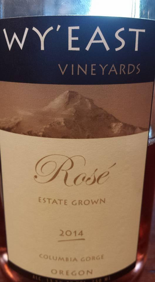 Wy'East Vineyards – Rosé 2014 Pinot Noir – Estate Grown – Columbia Gorge