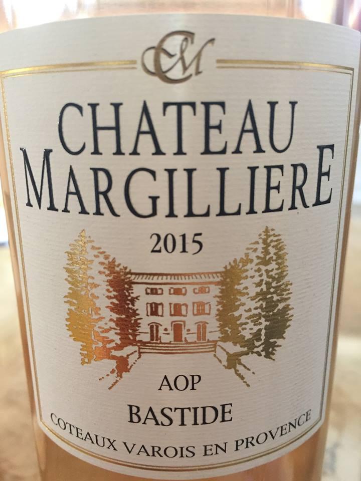 Château Margilliere – Cuvée Bastide 2015 – AOP Côteaux Varois en Provence