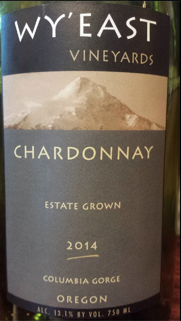 Wy'East Vineyard – Chardonnay 2014 – Estate Grown – Columbia Gorge