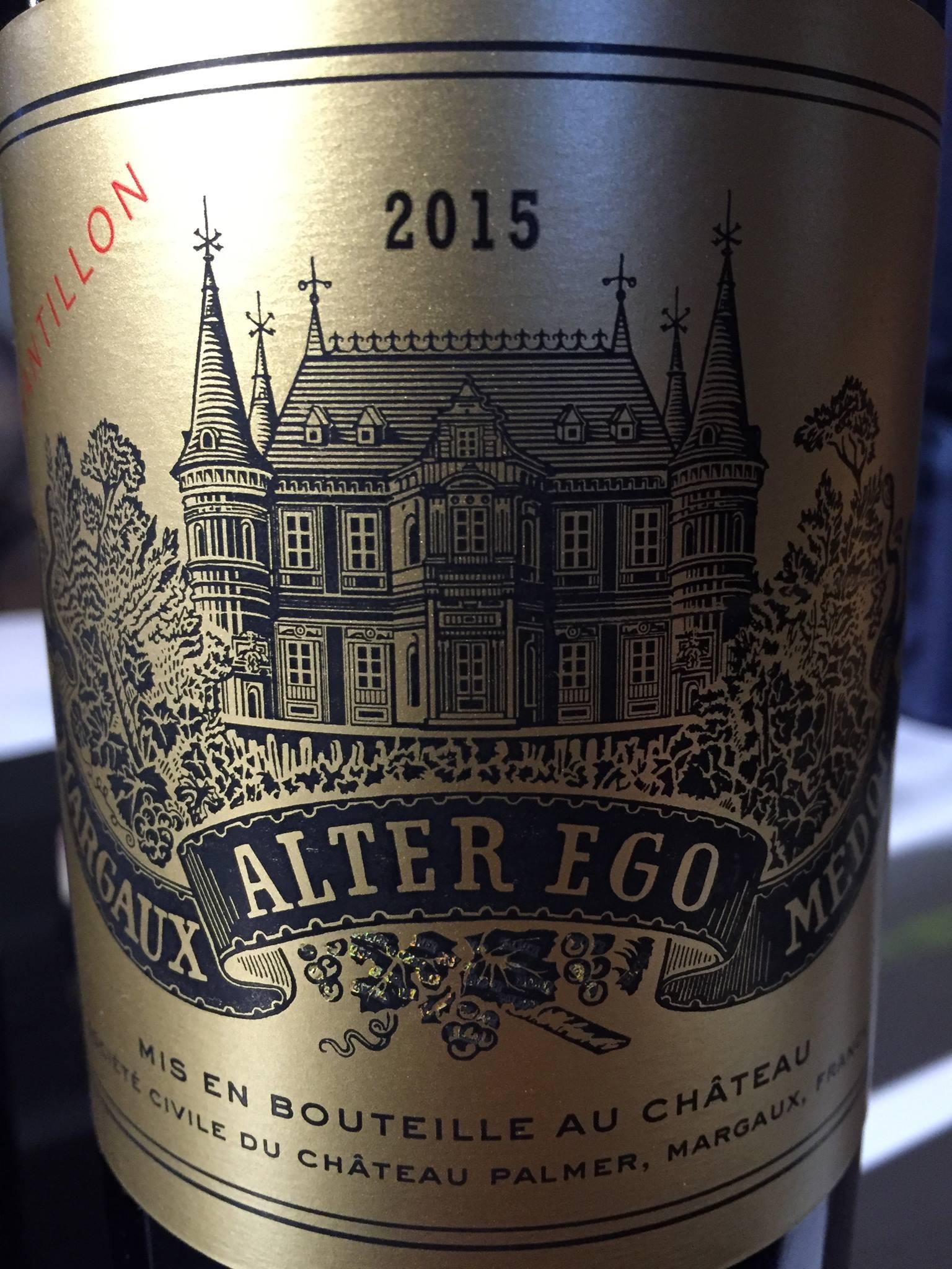 Alter Ego de Château Palmer 2015 – Margaux