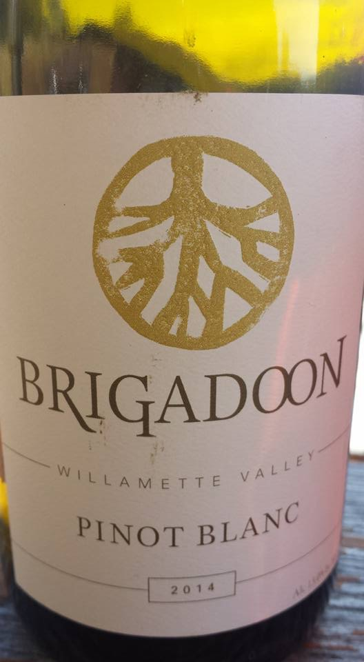 Brigadoon – Pinot blanc 2014 – Willamette Valley
