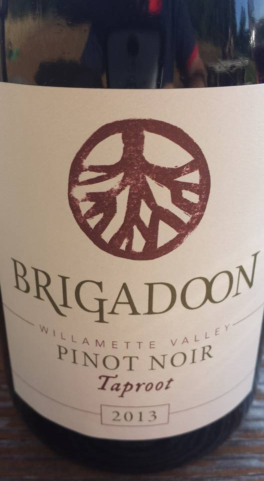 Brigadoon – Taproot 2013 – Pinot Noir – Willamette Valley