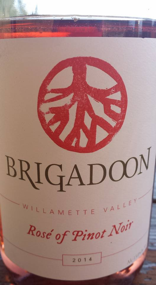 Brigadoon – Rosé of Pinot Noir 2014 – Willamette Valley