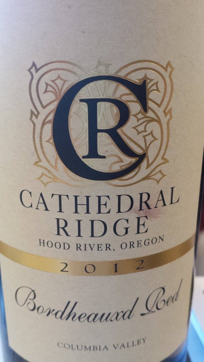 Cathedral Ridge – Bordheauxd Red 2012 – Columbia Valley
