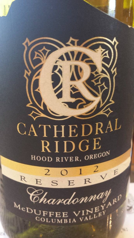 Cathedral Ridge – Chardonnay Reserve 2012 – McDuffee Vineyard – Columbia Valley