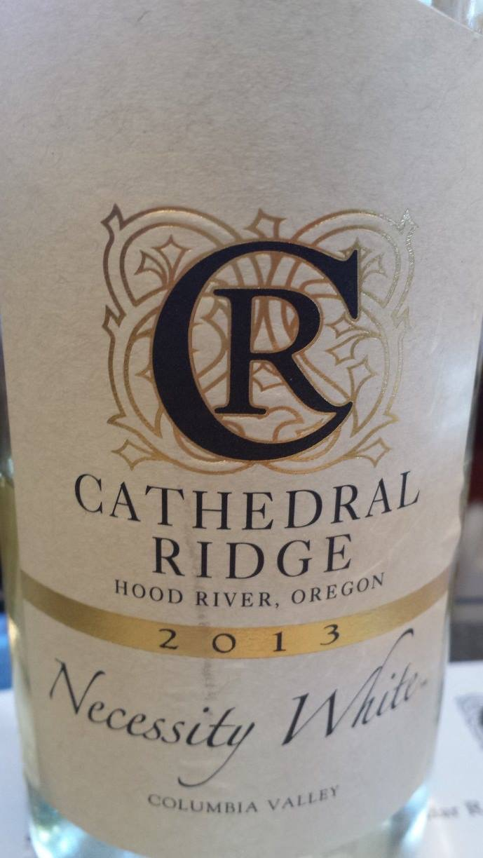 Cathedral Ridge – Necessity White 2013 – Columbia Valley