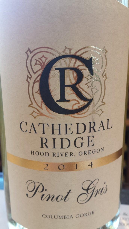 Cathedral Ridge – Pinot Gris 2014 – Columbia Gorge