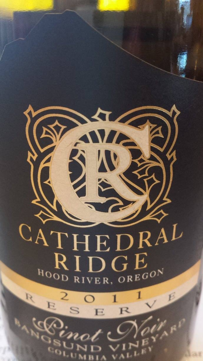 Cathedral Ridge – Pinot Noir 2011 Reserve – Columbia Valley