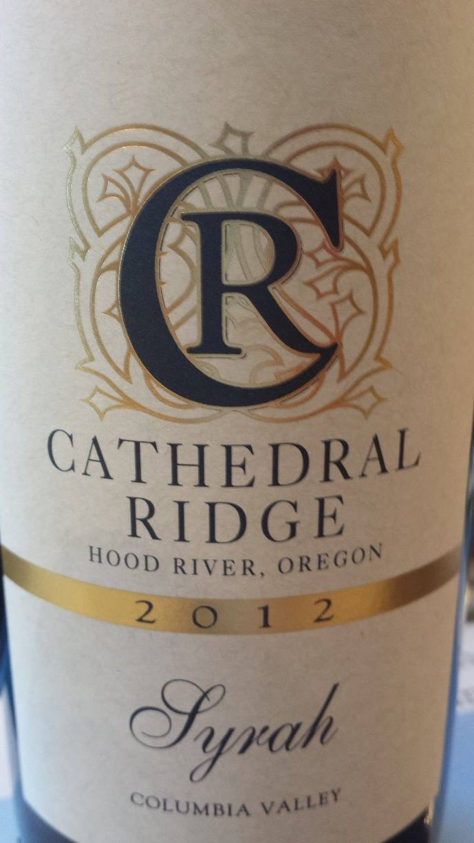 Cathedral Ridge – Syrah 2012 – Columbia Valley