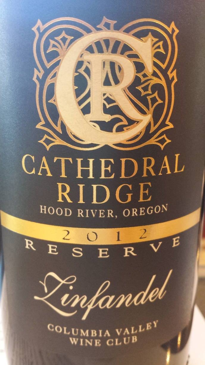 Cathedral Ridge – Zinfandel 2012 Reserve – Columbia Valley