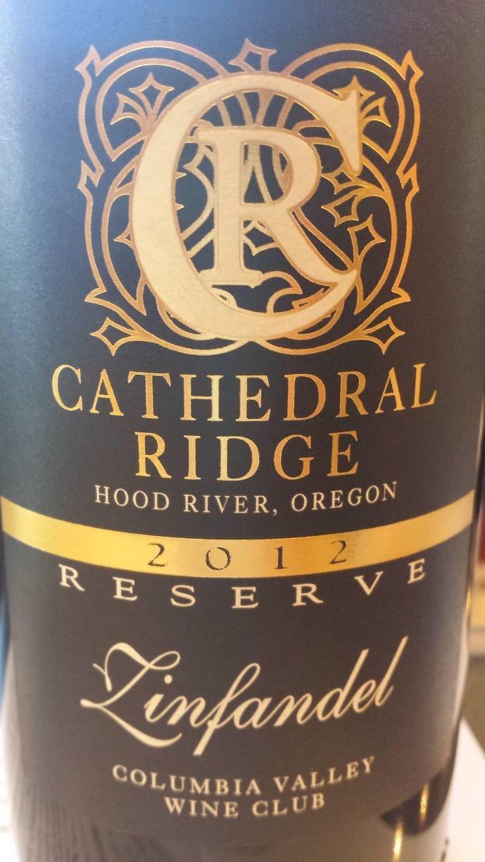 Cathedral Ridge – Zinfandel 2012 Reserve – Columbia Valley