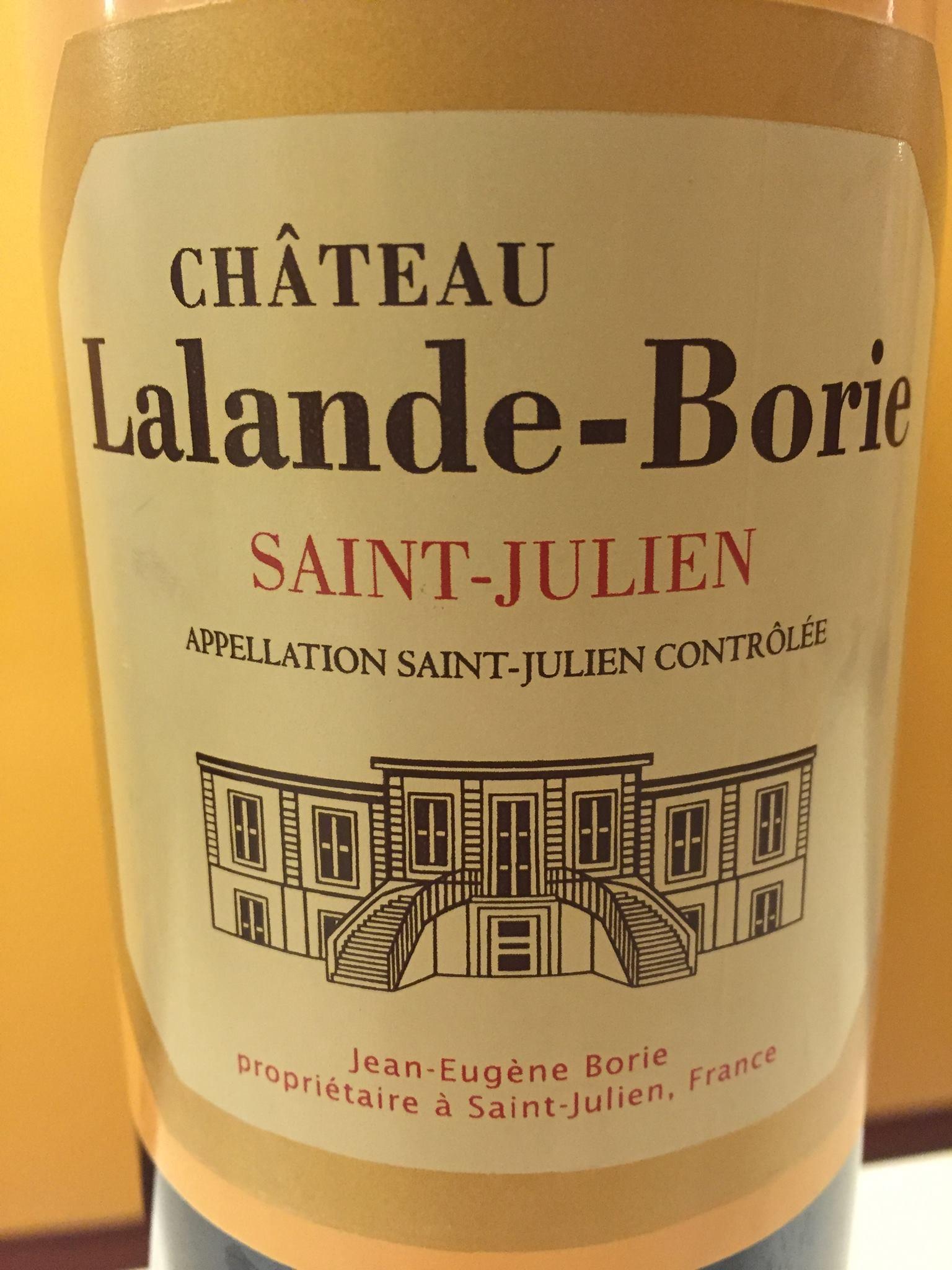 Château Lalande-Borie 2015 – Saint-Julien