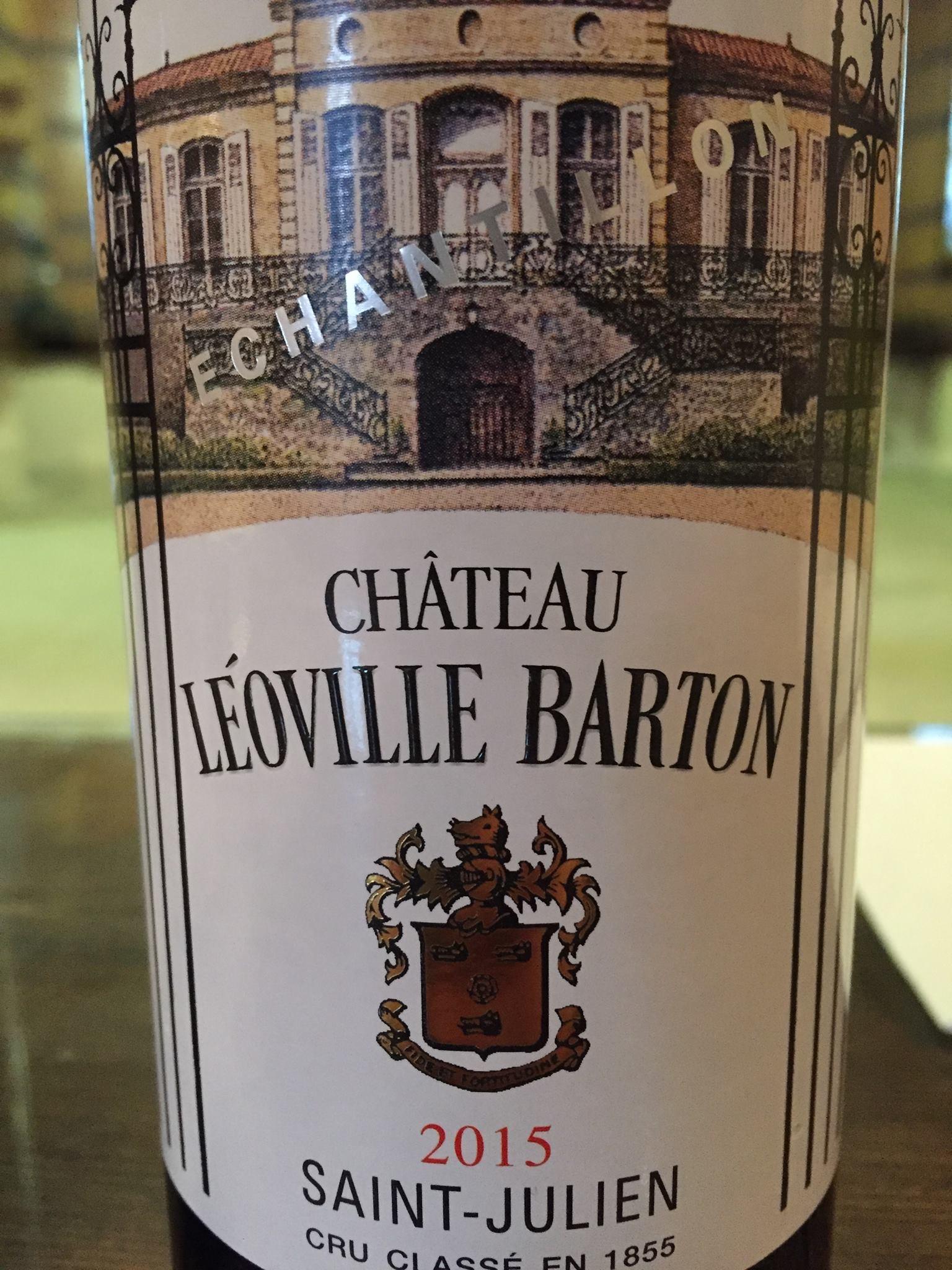 Château Léoville-Barton 2015 – Saint-Julien, 2ème Grand Cru Classé